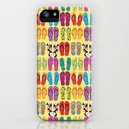 Flip Flop Pop iPhone Case
