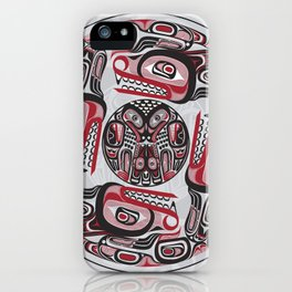 Four Wolves Lund iPhone Case