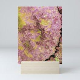 Agate Slice Abstract Mini Art Print
