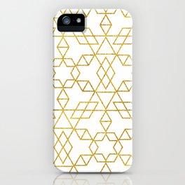 Art Deco Gold #society6 #decor #buyart iPhone Case