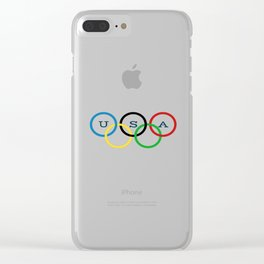 PyeongChang 2018 Olympics Clear iPhone Case