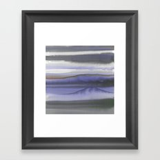 Mystic Dream Deep Blue Framed Art Print