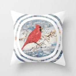 """""""Cardinal"""" Throw Pillow"""