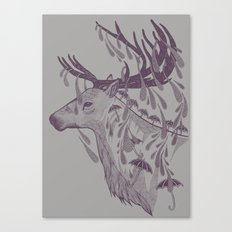 Rain Deer Canvas Print