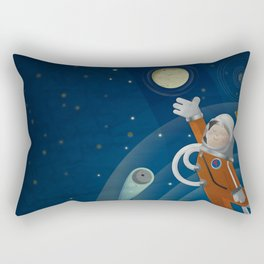Space is the place Rectangular Pillow