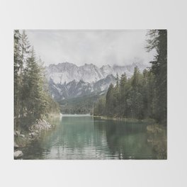 Looks like Canada - landscape photography Throw Blanket
