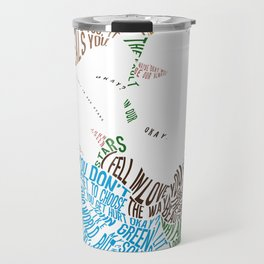 The Fault in our Stars Movie Poster Typography Travel Mug