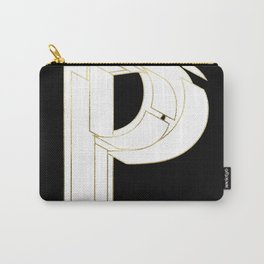 Beautiful Armor Letter P Carry-All Pouch