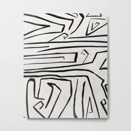 Modern improvisation 02 Metal Print