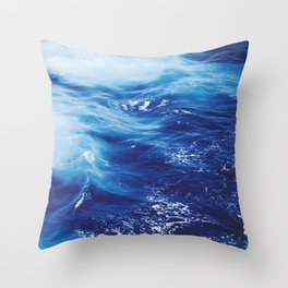 Sea Waters Throw Pillow