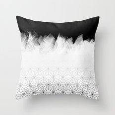 Christmas Geometric Pattern Throw Pillow