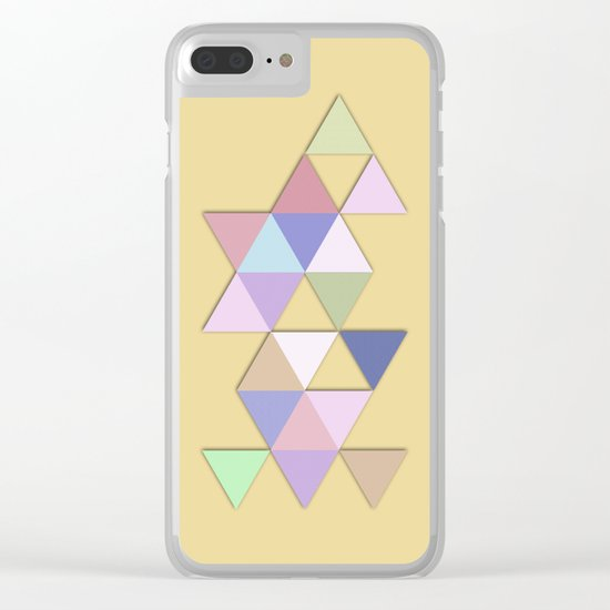 Abstract #809 Passages Clear iPhone Case