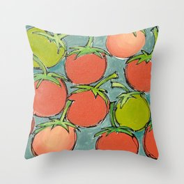 you had me at 'tomato' Throw Pillow