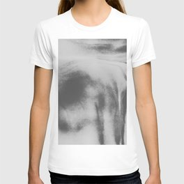 black and white lava flow T-shirt