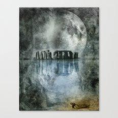 Dreamscape - Stonehenge Canvas Print