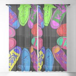 Chucks Sheer Curtain