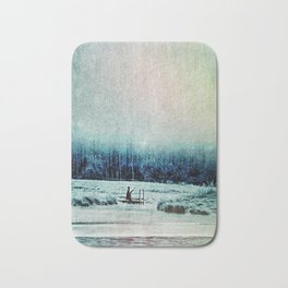 The Last Winter Bath Mat