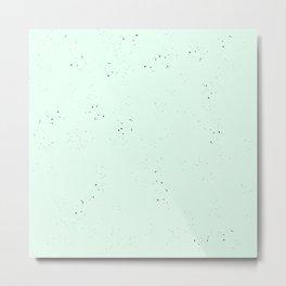 speckled mint Metal Print