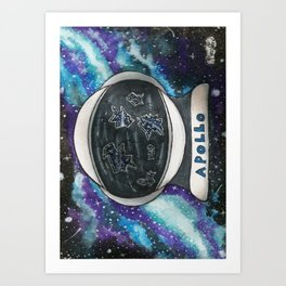 Too Much Space Art Print