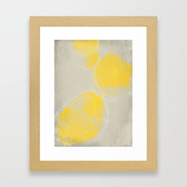Yellow 02 Framed Art Print