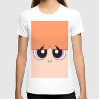 powerpuff girls T-shirts featuring Blossom -The Powerpuff Girls- by CartoonMeeting