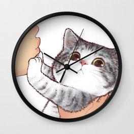 Kiss Cute Cat 3 Wall Clock