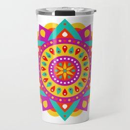 Mandala Yoga Massage Meditation Esoteric Symmetrical Art Gift Travel Mug