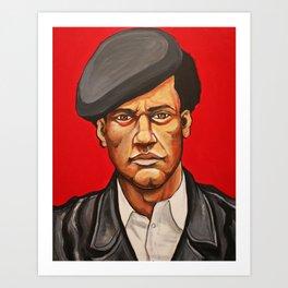 "Huey Newton ""Revolutionary"" Art Print"