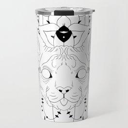 Mandala Sphynx Travel Mug