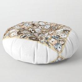 FerrHeart Floor Pillow
