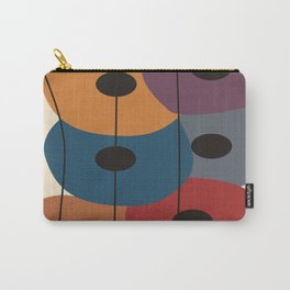 Big Artsy Circles Carry-All Pouch