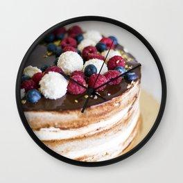 Fresh Cake Wall Clock
