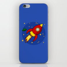 Space Rocket iPhone & iPod Skin