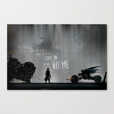 HIT ME! Canvas Print