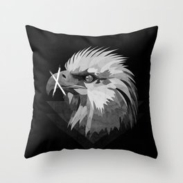 The Cold Blooded Predator Waits Throw Pillow