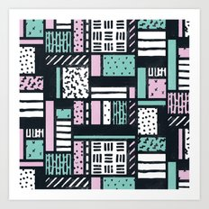 Pattern Pop Art Print