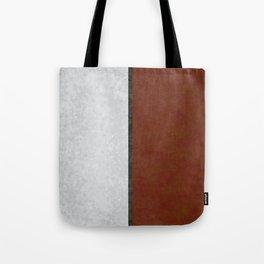 Marble Leaves Tote Bag