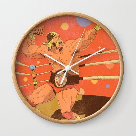 The Hulkster! Wall Clock