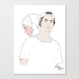 YousefSana Canvas Print