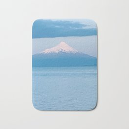 Volcano in Puerto Varas, Chile Bath Mat