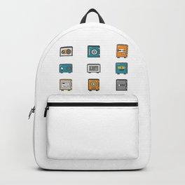 Money Safe Box Backpack