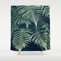 fern Shower Curtains featuring Fern by Rupert & Company