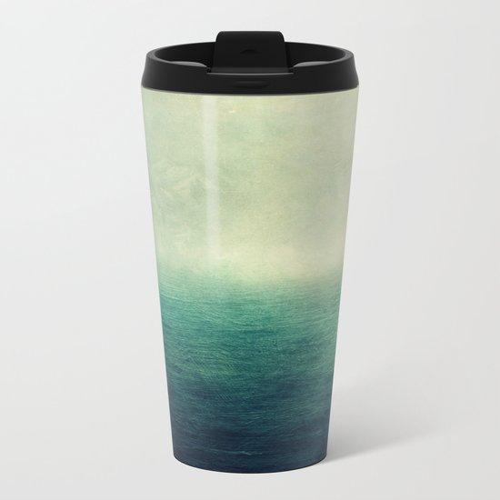 Moody ocean Metal Travel Mug