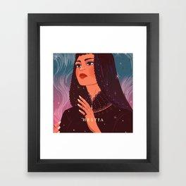 Greek Mythology Hestia Framed Art Print