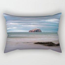 The Bass Rock from Seacliff Rectangular Pillow