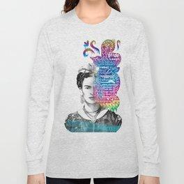 Frida Kahlo -  Long Sleeve T-shirt