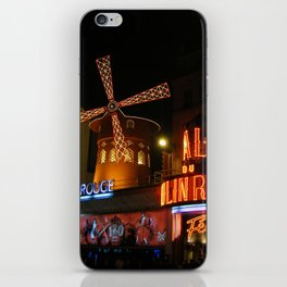 Paris by Night iPhone Skin