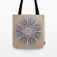 snowflake Tote Bags featuring Snowflake by Shereen Yap