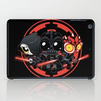 dark side iPad Cases featuring Dark Side by Dooomcat