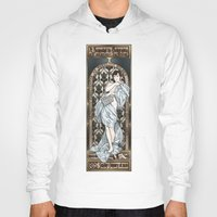 scandal Hoodies featuring A Scandal in Belgravia - Mucha Style by Alessia Pelonzi